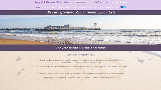 Supply And Demand for teaching jobs in Dorset