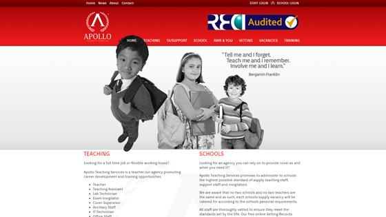 Apollo Teaching for teaching jobs in Swansea