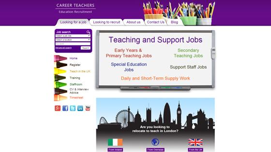 Career Teachers for teaching jobs in London