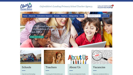 Classact Teaching for teaching jobs in Oxfordshire