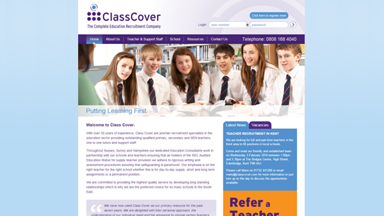 Class Cover for teaching jobs in East Sussex