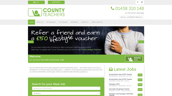 County Teachers for teaching jobs in Liverpool
