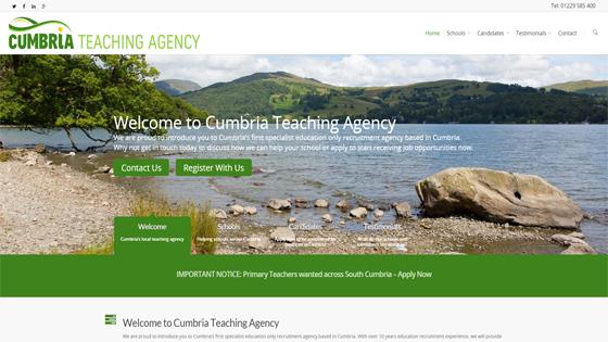 Cumbria Teaching Agency for teaching jobs in Cumbria