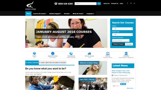 Derby College for teaching jobs in Derby