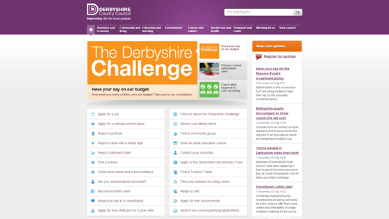 Derbyshire County Council for teaching jobs in Derby