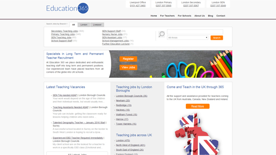 Education 365 for teaching jobs in Manchester