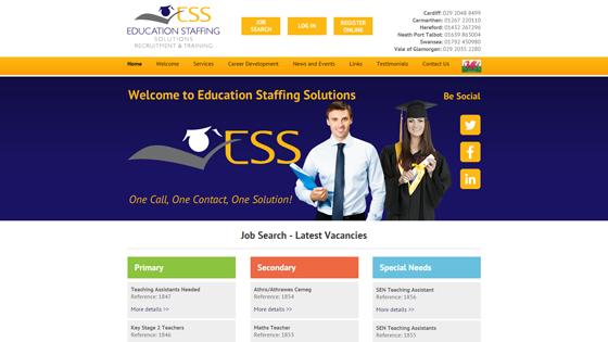 Education Staffing Solutions for teaching jobs in Cardiff