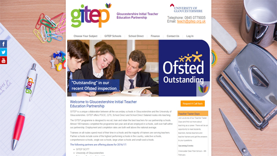 GITEP for teaching jobs in Gloucestershire