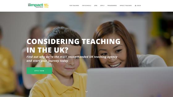 Impact Teachers for teaching jobs in London