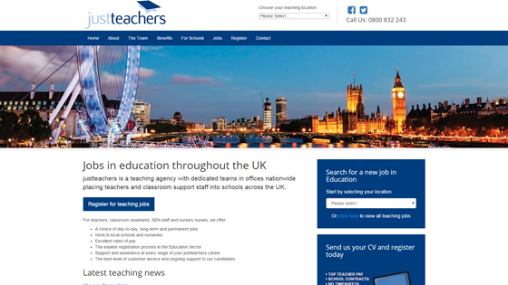 Just Teachers for teaching jobs in Manchester