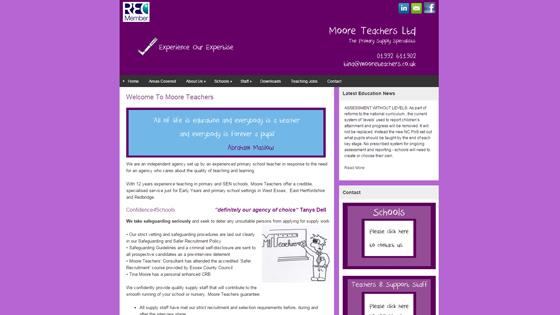 Moore Teachers for teaching jobs in Essex
