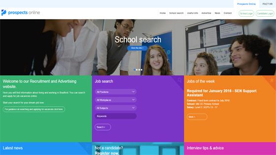 Prospects Online for teaching jobs in Bradford