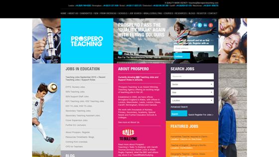 Prospero Teaching for teaching jobs in Cardiff