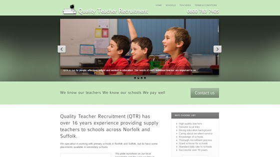 Quality Teacher Recruitment for teaching jobs in Norfolk