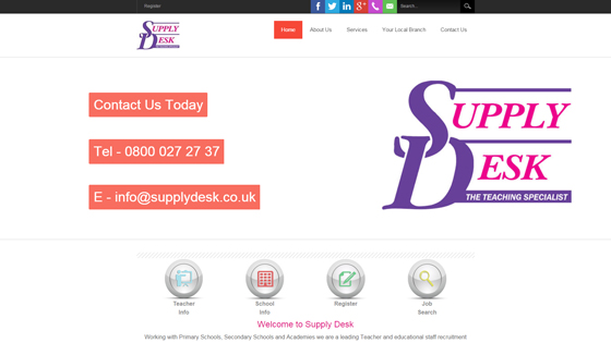 The Supply Desk for teaching jobs in Lincolnshire