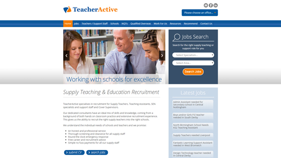Teacher Active for teaching jobs in Bristol