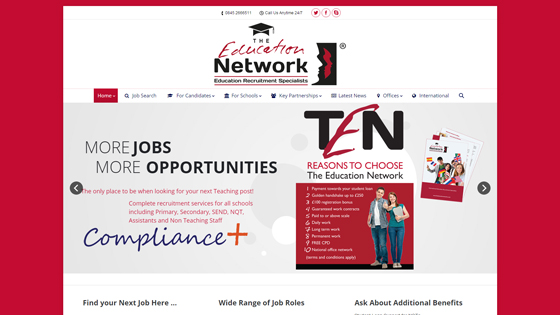 The Education Network for teaching jobs in Leeds