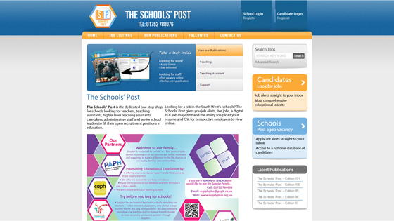 The Schools Post for teaching jobs in Plymouth